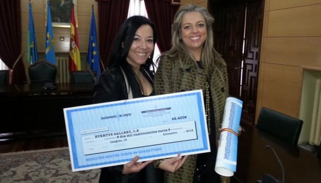 EVENTYS GALLERY ganadora en 2012 del premio Emprendedoras del Año